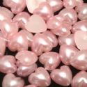 Acrylic Flat back, Plastic, pink, 6mm x 6mm x 3mm, 50 pieces (approximate), (ZZP003)